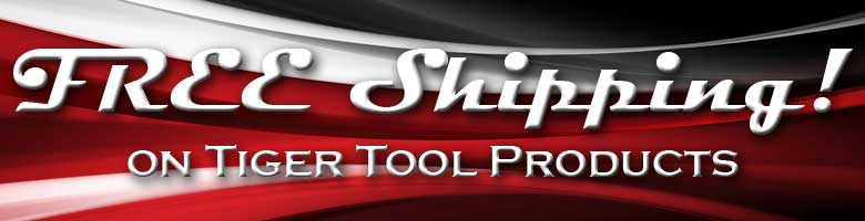 Tiger Tool Free Shipping Banner